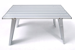 Wholesale Camping Aluminum Folding Table Outdoor Furniture Portable Picnic Camping Table