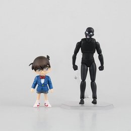 2017 la figure conan Anime Detective Conan figFIX Conan Edogawa Figma Criminal Figure Model Toy bon marché la figure conan