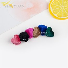 XT97 12pcs lot wholesale Double-faced lovely Heart-shaped new magnet brooches alloy especially broches hijab accessories brooches for women