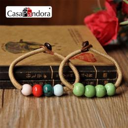 CasaPandora Jewelry Ceramic Mix Colour Women's Bracelets Handmade Accessories Honey Lovers Gift Hot Sale New Design Free Shipping