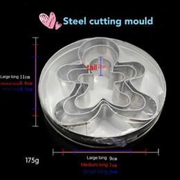 Wholesale Stainless steel baking tools cartoon bear steel cutting mould slicer can cut fruits and vegetables etc