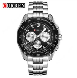 Curren relojes hombres quartzwatch relogio masculino relojes militares de lujo de moda casual ejército resistente al agua sports8077