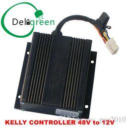 Dc convertisseur 12v 48v en Ligne-KELLY CONTROLLER Régulateur d'alimentation DC / DC CONVERSOR 48V Descente à 12V 400W 35A