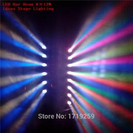 Vente en gros-Expédition rapide LED Beam barre de lumière mobile de déplacement RGBW 8x12W Parfait pour DJ mobile, Party, nightclub à partir de rgbw conduit faisceau mobile de la tête fabricateur