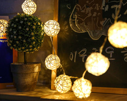 Wholesale 20 LEDS String Light Ball Type LED Creativ Coloured lights for Holiday Celebration Birthday Party Wedding Company Banquet Christmas M M