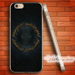 Coque Luxury The Lord of Rings Soft Clear TPU Case for iPhone 7 6 6S Plus 5S SE 5 5C 4S 4 Case Silicone Cover.
