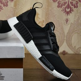 Wholesale 2017 Adidas Originals With Box Men Womens top quality NMD PK R1 Cheap Discount NMD boost man running shoes sports shoes