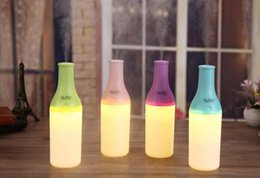 4 colors !Cool Bottle Led Humidifier Home Aroma Air Diffuser Purifier Atomizer essential oil diffuser difusor de aroma mist maker fogger