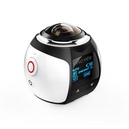 V1 4K 360 Degree Action Camera Wifi Mini 2448*2448 16MP Ultra HD Panorama Camera 3D Waterproof VR Camera