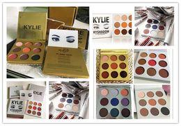 kylie cosmetics 4 style kyshadow style christmas edition + holiday edition eyeshadow + bronze kyshadow + burgundy eye shadow palette Kylie j
