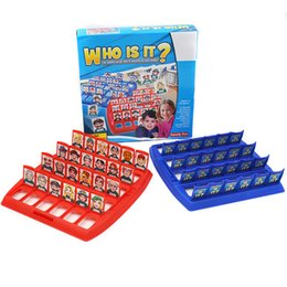 Wholesale Who Is It Party Family Board Game Classical Guess Who Face Fun Players Well Known Classic Kids Board Game For