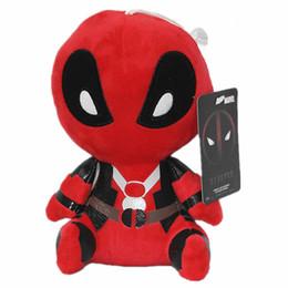 2017 superhéroes juguetes de peluche Los 20cm Deadpool rellenaron la figura suave juguete relleno del juguete de la muñeca del juguete de la muñeca el envío libre al por mayor el ccsme superhéroes juguetes de peluche limpiar