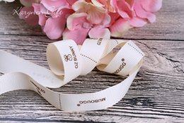 Wholesale 2 mm unique personalized wedding favors ribbon for car baby shower ribbons printed your own information on ribbon yards