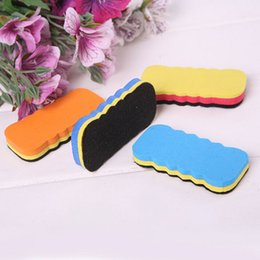 Wholesale Cheapest Cute Whiteboard Blackboard Dry Wipe Marker Cleaner Drawing Draft Eraser Office School Supplies