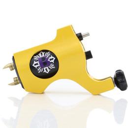 Promotion tatouage rotatif suisse gratuit Machine de tatouage rotative de précision Shader Liner Gun Meilleur style bishop Aluminium Swiss Motor Six Color Livraison gratuite