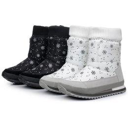 Botas para la nieve pato mujeres en Línea-Venta al por mayor-Mujer botas de invierno nuevo diseño de pato de goma de nieve impermeable botas de jogging mujeres zapatos multicolores S4786