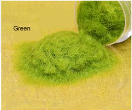 Wholesale G Scene construction sand table model material model simulation of lawn grass powder FLOCK NYLON