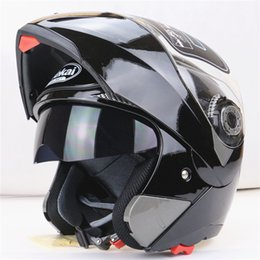 Double lens helmet Electric helmet Half Face helmet has a wraparound visor and shock-absorbent rubber padding 26.5*25.5*25.5cm 1.4kg