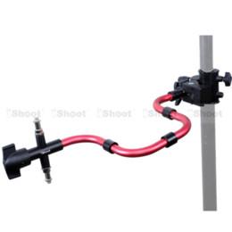 Éclairage de la rampe à vendre-Bracelet Super Strong pour Trépied Photo Studio Light Stand Boom + support photographique Support de caméra Support Flash Bracelet Magic Serpent