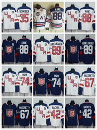Wholesale American USA Team Ice Hockey Jerseys Mens Patrick Kane Phil Kessel Ryan Miller Stitched Cheap Jersey