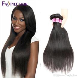 Wholesale Brazilian Straight Hair Bundles 5pcs lot TOP Quality Hair Weave Peruvian Malaysian Indian Unprocessed Virgin Hair Extensions