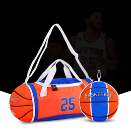 Wholesale Duffel Bag Customized for Basketball Team Single Shoulder Bag Crossbody Bags Handbags Storage Package Players KNICK For Fans