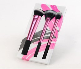 Wholesale new Professional beauty Real Makeup Brushes set Techniques make up Blending Brush lip eyeshadow powder maquiagem Cosmetic Tool