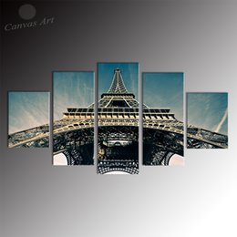 No Framed 5 Pieces Canvas Art Canvas Prints Painting Modern Digital Wall Pictures for Living Room