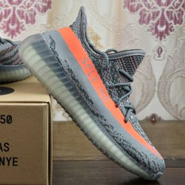 Wholesale 2017 Adidas Originals Yeezy Boost V2 Running Shoes For Sale Men Women Best Quality SPLY Hot Sell Sports Shoes With Box