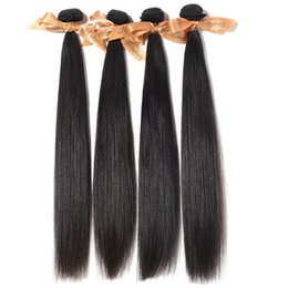 """Mixed 2pcs lot 200g Virgin Brazilian Straight Hair,Wave, 12""""14""""16""""18""""20""""22""""24""""26"""",Natural Color Can Be Dyed No Shedding Tangle Free"""