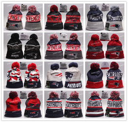 Wholesale Patriots Beanies Winter High Quality Beanie For Men New England American Football Women Skull Caps On Field Skullies Knit Caps