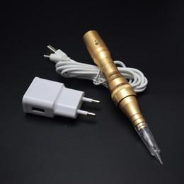 Korea Professional Rotary Electric Permanent Makeup Machine  Nano Micro Needle Tattoo Makeup Eyebrow Lips Machines Pen