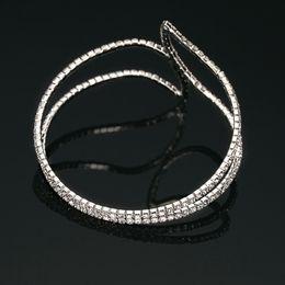 Lady Women Bracelet Silver Elegant Jewelry Charm Crystal Rhinestone Special design Bracelet Bangle Best Gift Arrival
