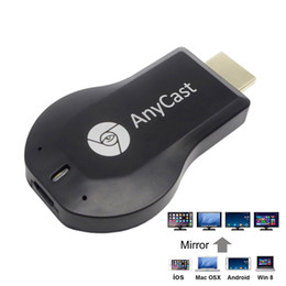 Anycast M2 Plus HDMI Wi-Fi Display Dongle Receiver 1080P Airmirror DLNA Airplay Miracast Easy Sharing HDMI TV Stick for IOS Andriod Windows