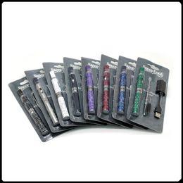 Snoop Dogg Starter Kits Electronic Cigarettes Dry Herb Vaporizer 650mah battery Herbal Vape Pen Blister