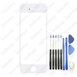 200PCS New Front Outer Touch Screen Glass Replacement for iPhone 5 5s 5c with Tools Free DHL