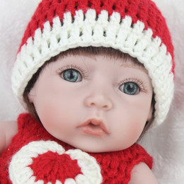28cm Reborn Baby Doll Rebirth Soft Silicone Vinyl Newborn Baby Child Birthday Present Kids Baby Toy Gift