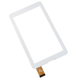 Mtk6577 tablet pc en Línea-Venta al por mayor- 10pcs blanco 7 pulgadas OEM compatible con Orro A960 MTK6577 MTK6527 panel táctil, Tablet PC digitalizador FM707101KD FM707101KC FM7