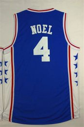 Wholesale Basketball jerseys for Philadephia ers Nerlens Noel phila fans Jersey New technology Embroidery fabric Sixers team jersey sleeveless
