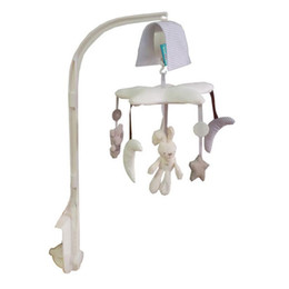 Hot sale lovely infant revolving bed hanging Mobiles Infant Soft Plush Soft brightly colored hanging toys