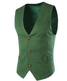 Wholesale Venta al por mayor chaleco de traje para hombre ropa azul claro blanco verde negro algodón casual primavera chaqueta de otoño nuevo diseño elegante chaleco con estilo