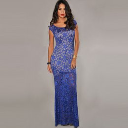 2017 New Sexy Formal Fashion High Quality Women Blue Evening Dresses Sexy Charming Unique sleeveless Runway Dresses