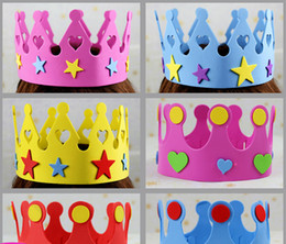 10g EVA star birthday hat children's show props Festival girls and boys are in common use Festive & Party Supplies wholesale