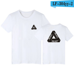 Wholesale Palace skateboards classic triangle print mens t shirt for men basic summer noah clothing cotton short sleeve tees tops