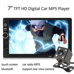 Wholesale Car DIN Inch Bluetooth Audio In Dash Touch Screen Car Audio Stereo MP3 MP5 Player USB CMO_20X