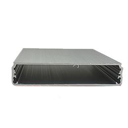 aluminum enclosure for electronics control box customizable aluminum amplifier power supply distribution box 4 pcs, 22*104*130mm AK-C-B11