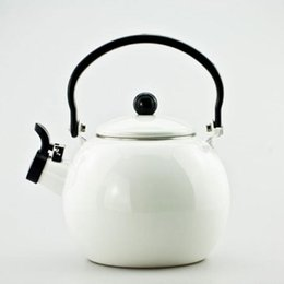 Wholesale 1 L Enamel kettle dinerware teapot kitchen tools whistling kettle samovar electric kettle tetera