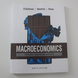 Wholesale Macroeconomics Principles Applications and Tools th Edition by Arthur O Sullivan Steven Sheffrin Stephen Perez Author