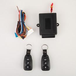 2017 sistema de alarma a distancia un coche Universal 12V Sistemas de alarma de coche Auto Remote Central Kit de bloqueo de la puerta de bloqueo del vehículo Sistema de entrada sin llave con controladores remotos descuento sistema de alarma a distancia un coche