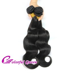 Promotion cheveux ondulés tisse pour les femmes noires Colorful Queen Indian Virgin Hair Body Wave Les tissus des cheveux humains pour les femmes noires 3 Bundles Natural Wave Wet ondulé Raw Indian Hair Extensions